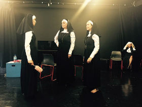 Publicity photograph for Nuns