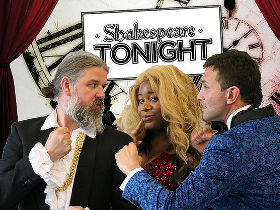 Publicity photograph for Shakespeare Tonight
