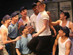 The ensemble of Damn Yankees