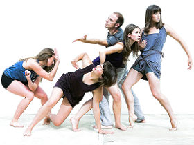 The company of Nutshell Dance