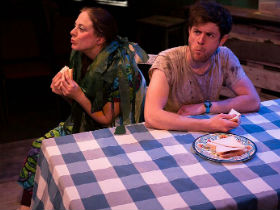 Vicky Gaskin and Chris Levens as Roberta and Bob
