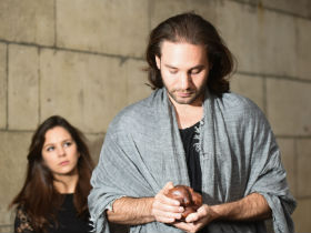 Maria Ines Sousa and Adrian Look in Sisyphus' Wife