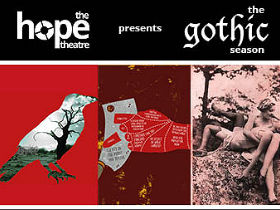 Publicity image for The Hope Theatre's Gothic Season