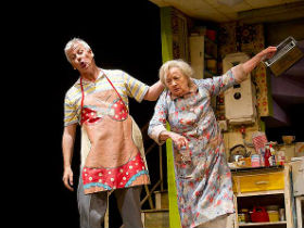 Deka Walmsley and Ann Emery as Jackie Elliot and Billy's Grandma