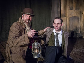 Stuart Fox and Joseph Chance as Arthur Kipps and the actor